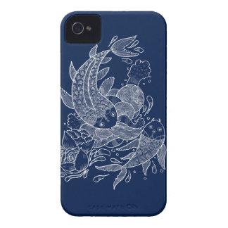 Los pescados de Koi iPhone 4 Case-Mate Carcasa