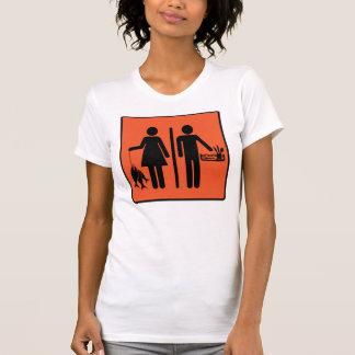 Los pescados de las mujeres reales los hombres re camisetas