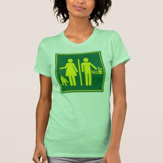 Los pescados de las mujeres reales los hombres re camiseta