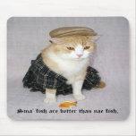 Los pescados de Sma son mejores que pescados del n Alfombrillas De Ratones