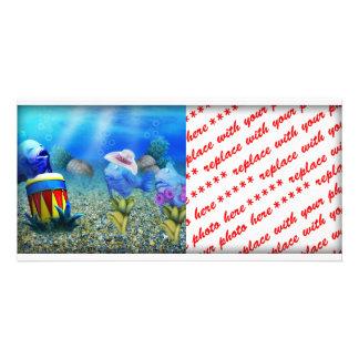 Los pescados del canto tarjetas fotográficas