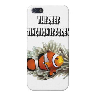 Los pescados del filón y del payaso iPhone 5 fundas