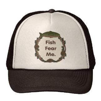 Los pescados divertidos del casquillo del pescador gorros