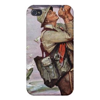 Los pescados están saltando iPhone 4 protectores