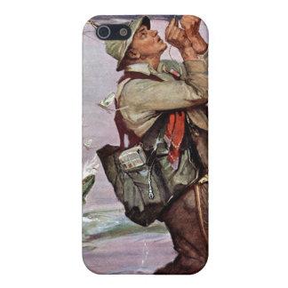 Los pescados están saltando iPhone 5 fundas