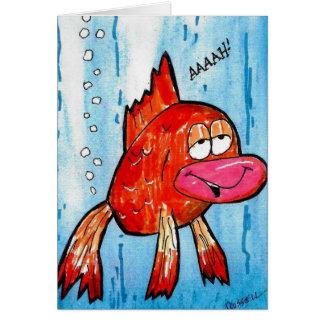 Los pescados Fart consiguen la tarjeta bien