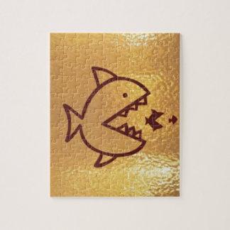 Los pescados GRANDES comen PEQUEÑOS PESCADOS Puzzles Con Fotos
