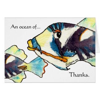 Los pescados hawaianos del dibujo animado le agrad