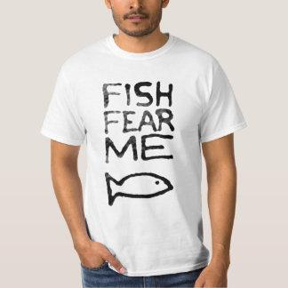 Los pescados me temen camisa