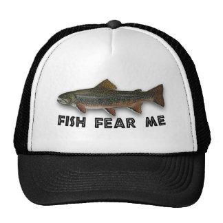 Los pescados me temen los deportes divertidos de l gorros