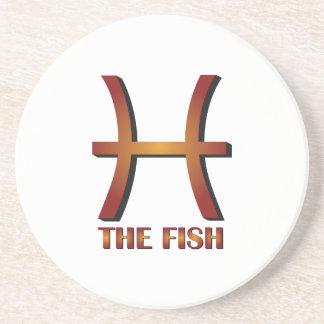 Los pescados posavasos manualidades