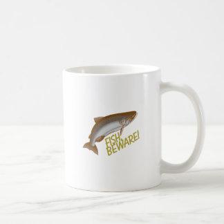 Los pescados se guardan taza clásica