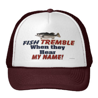 Los pescados tiemblan cuando oyen mi gorra conocid