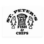 Los pescados y los microprocesadores de San Pedro Postal