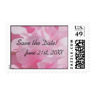 """Los pétalos rosados """"ahorran los sellos de la fech"""