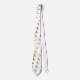Los petirrojos aclaran mi día corbata personalizada