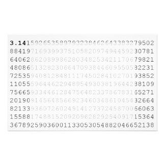 Los pi celebran día de 3,14 pi papeleria de diseño