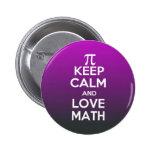 Los pi guardan calma y matemáticas del amor pin