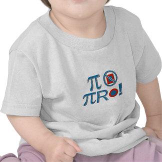 ¡Los pi no son cuadrados! Camiseta