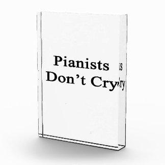 Los pianistas no lloran