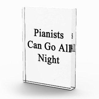Los pianistas pueden ir toda la noche
