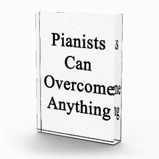 Los pianistas pueden superar cualquier cosa
