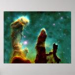 Los pilares de la creación poster