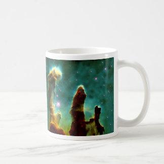 Los pilares de la creación tazas de café