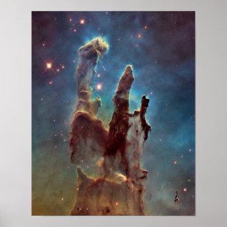 Los pilares del poster de la creación póster