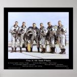 Los pilotos de prueba X-15 - NASA Poster