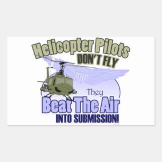 Los pilotos del helicóptero no vuelan [UH-1] Rectangular Altavoz