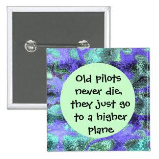 los pilotos divertidos nunca mueren perno pin cuadrada 5 cm