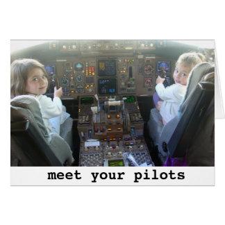 Los pilotos están consiguiendo más jovenes tarjetón