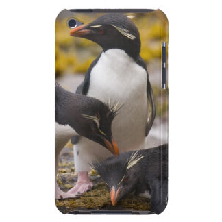 Los pingüinos de Rockhopper comunican con uno a iPod Touch Case-Mate Protectores