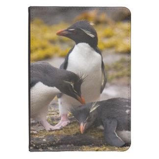 Los pingüinos de Rockhopper comunican con uno a Funda De Kindle Touch