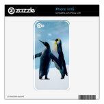 Los pingüinos viven y dejan vivo skins para eliPhone 4