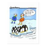 Los pingüinos volaron al sur postal
