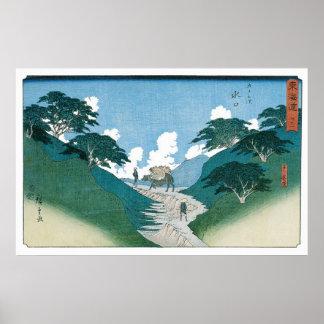 Los pinos hermosos por Utagawa Hiroshige Impresiones