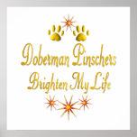Los Pinschers del Doberman aclaran mi vida Impresiones