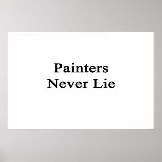 Los pintores nunca mienten posters