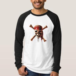 Los piratas del cráneo del Caribe torches el Polera