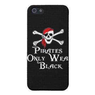 Los piratas llevan solamente negro iPhone 5 fundas