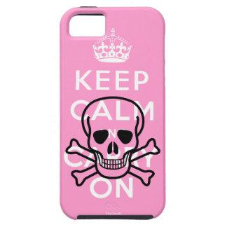 Los piratas mantienen tranquilo y continúan el cas iPhone 5 funda