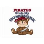 Los piratas robaron mi preparación postal