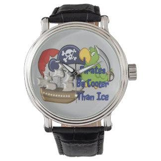 Los piratas sean más frescos relojes de mano
