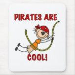Los piratas son frescos alfombrilla de ratón