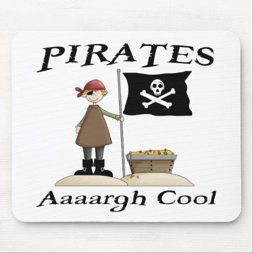 Los piratas son frescos tapetes de ratones