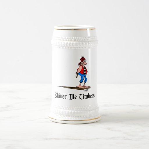Los piratas - tiembla las maderas jarra de cerveza