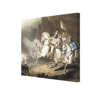 Los Pirineos, el 28 de julio de 1813, 'de las vict Impresiones En Lona
