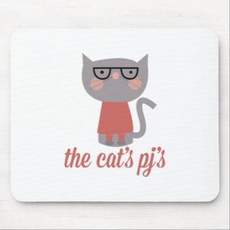 Los PJs de los gatos Alfombrillas De Ratones